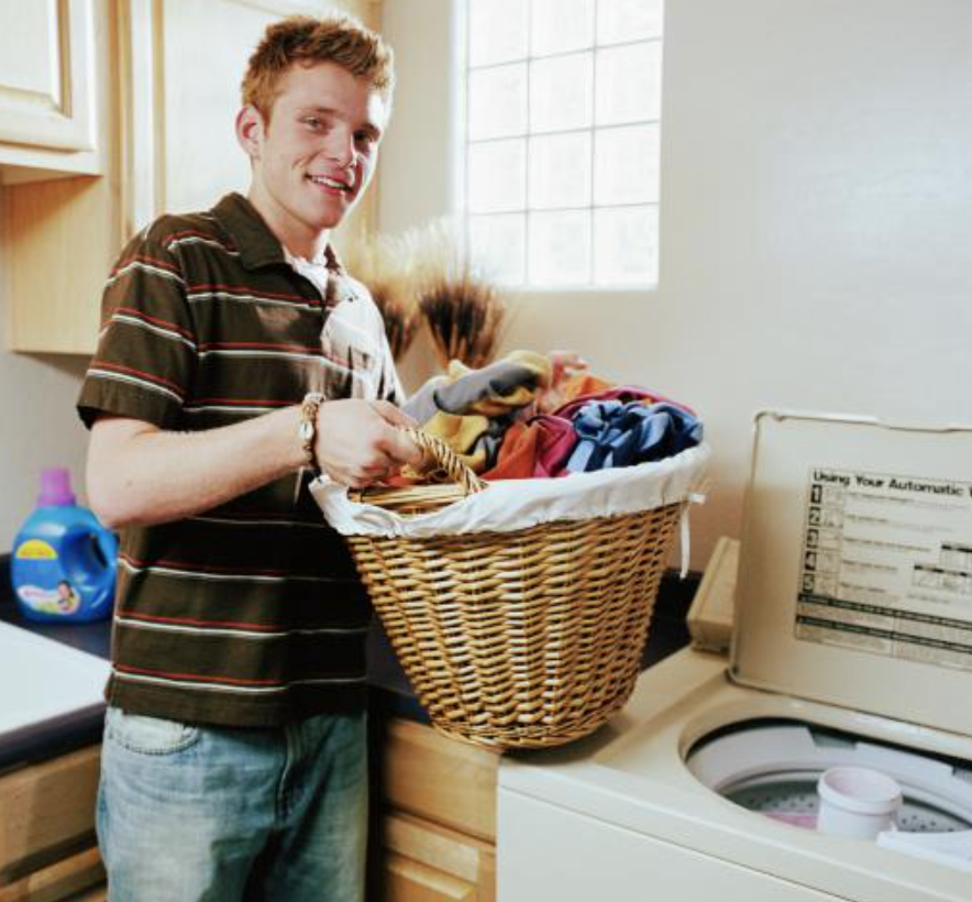 Teaching Your College Bound Teen To Do Laundry - ERIKA KATZ